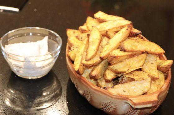 Patate rustiche e sabbiose al grana , croccanti e veloci da preparare