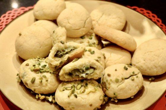 Frollini con cuore morbido al pistacchio