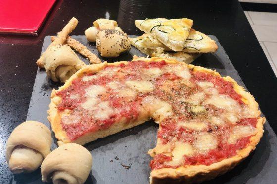 Impasto veloce per pizze- grissini-torte salate e molto altro ancora