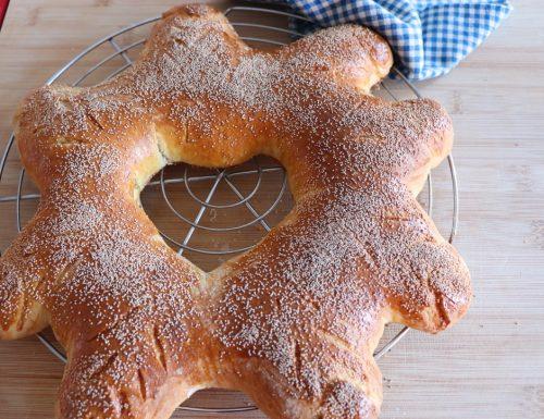 Stella di pane con lievito Madre