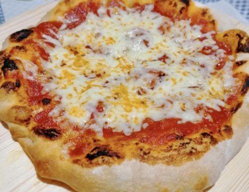 Pizza 80% idratazione, più buona e leggera del mondo, lunga lievitazione