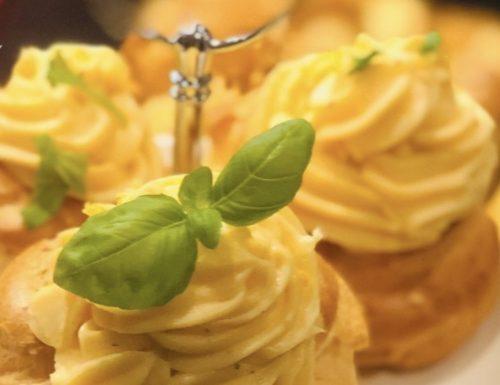 Crema Pasticcera salata al parmigiano e limone