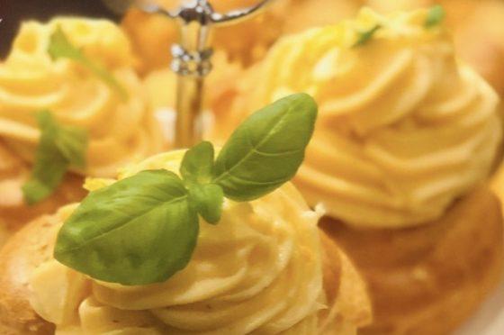 Crema Pasticciera salata al parmigiano e limone