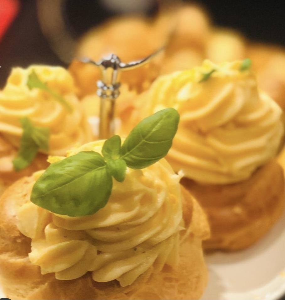 crema pasticcera al parmigiano