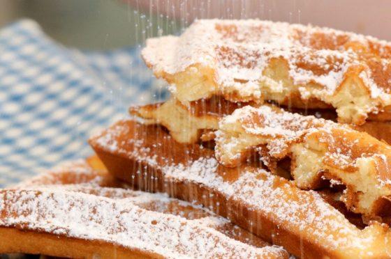 Waffle o Gaufres Belga
