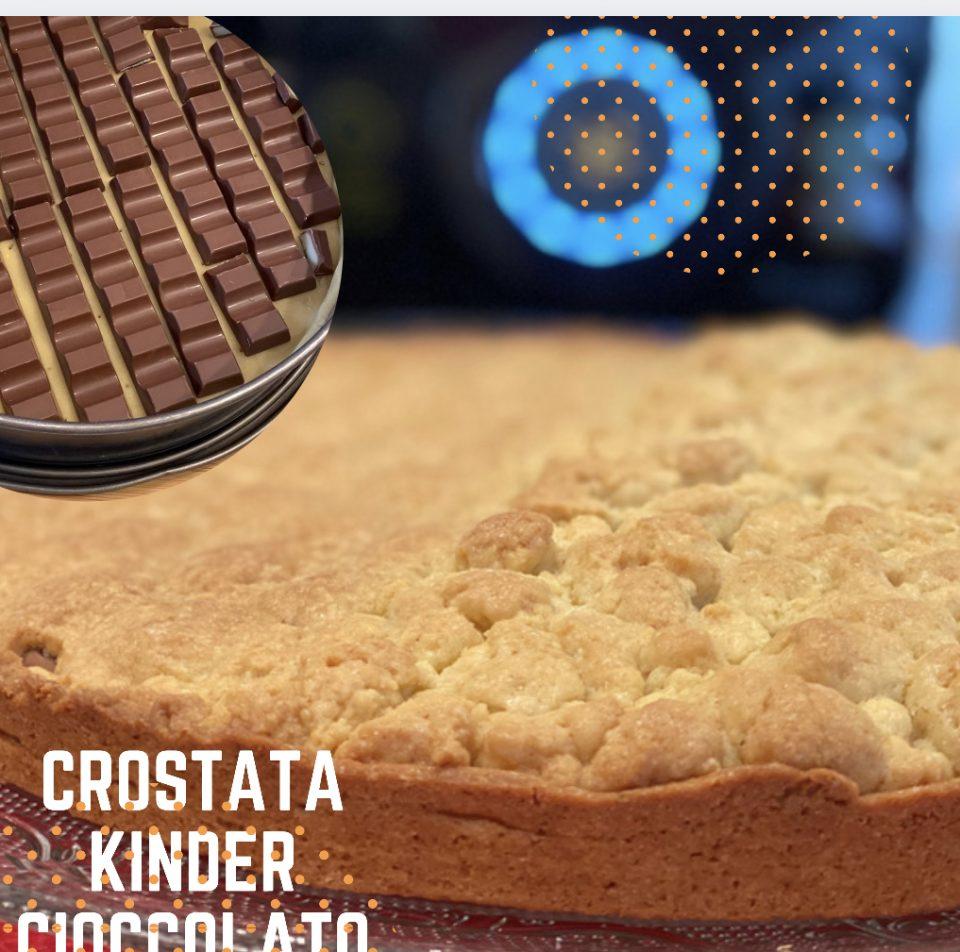 Crostata kinder cioccolato