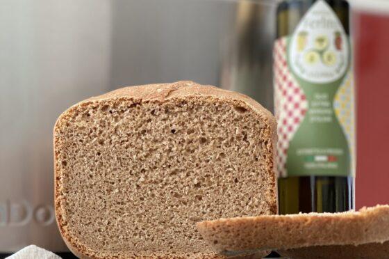Pane in cassetta integrale con la macchina del pane automatica Calmdo