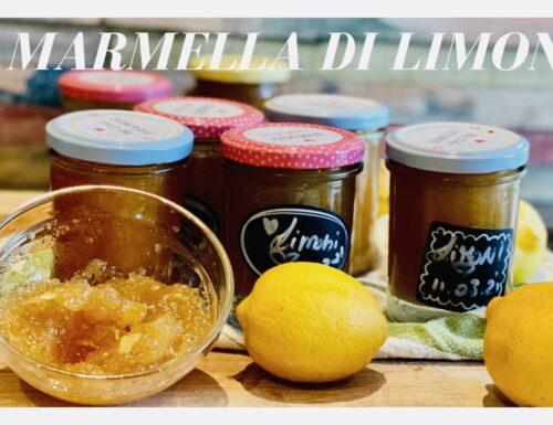 Marmellata di limoni e vaniglia con Limoni di Sicilia