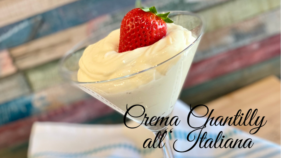 crema Chantilly all ItALIANA