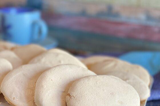 Giammelle o Nuvolette  Siciliane / Savoiardi Siciliani /Biscotti da Inzuppo della Tradizione Siciliana