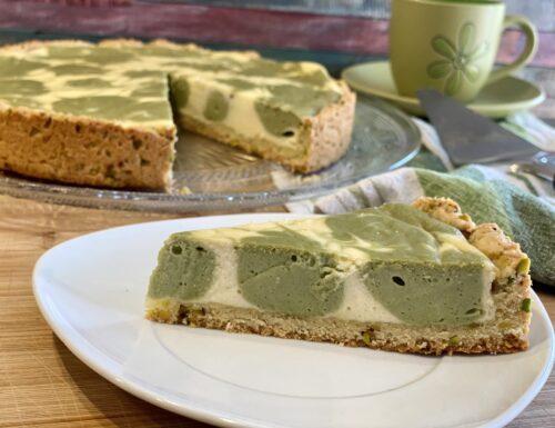 Cheesecake al Pistacchio / cheesecake cotta / Pistachio cheesecake