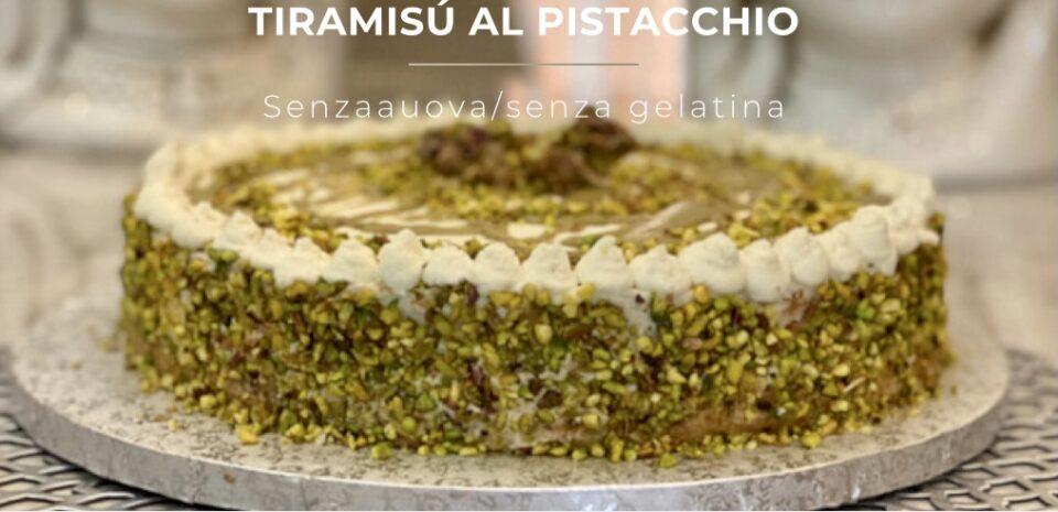 finto tiramisu al pistacchio