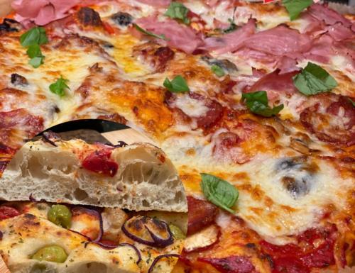 Pizza in teglia o Focaccia alta e soffice, decidi tu! Impasto meraviglioso per fare la  Pizza in giornata